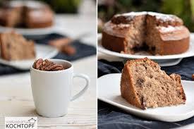 7 tassen kuchen mit pekan schokolade