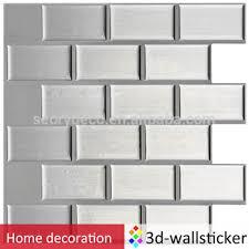 big size self adhesive wall tile backsplash 3d pu gel kitchen wall