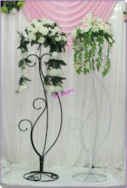 Wedding Stands For Flowers Plant Stand Breathtaking Metal Flower Image Ideas Rustic