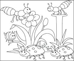 Spring Coloring Sheets Free Printable Pages To Print Kids Activities Springtime Pictures