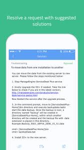 Apple Help Desk Support by It Helpdesk Servicedesk Plus On The App Store