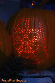 Pumpkin Carving With Drill by How To Create Awesome Star Wars Pumpkins
