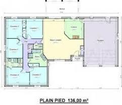 maison plain pied 5 chambres délicieux plan maison 5 chambres plain pied 16 grand plain pied