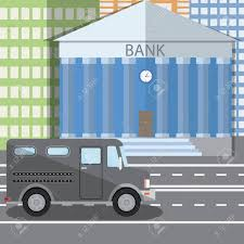 Flat Design Illustration Of Bank Building And Parked Bulletproof ... Armored Car Valuables Wikipedia Brinks Hino Truck Formwmdriver Flickr Vehicles And Bulletproof Cars For Sale Including Used Best Custom Trucks Armortek 25 Heavy Duty 6 Droprise Hitches Bubba Watsons For Starters It Really Is 072014 Toyota Tundra This Truck A Beast Our 12 2015 F150 W 1012 Lift Kit On 24x14 Wheels Dub Magazine Suspeions Cadimax Chevy 2500 Diesel How Canada Got Its Bulletproof Reputation Building The Best The Worlds Photos Of Hive Mind