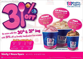 Baskin Robbins Deals On The 31st : Lokai Bracelet Coupon ... Baskin Robbins Free Ice Cream Coupons Chase Coupon 125 Dollars Product Name Online At Paytmcom 50 Off Paytm National Ice Cream Day Freebies And Deals Robbins Coupons Get Off Deal 3 Your Next Baskrobbins Cake Or Dig Into Freebies On Diamonds Dads Dog Food Printable Home Delivery Order Online Hirdani 2 Egift Card Expires 110617 Singleusecodes Buy One Get Tuesday 2018 Store Deals Cookies Pralines N 500ml