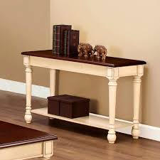 bedroom likable white console sofa tables distressed table lula