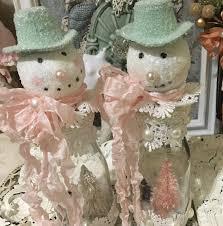 Frosty Snowman Christmas Tree Topper by Shabby Chic Frosty Snowman Globe Tutorial Youtube