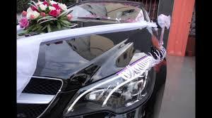 décoration voiture de mariage inoubliable