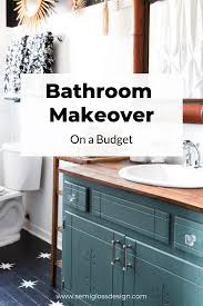 Bathroom Makeover With Paint: Bathroom Ideas On A Budget My Budget Friendly Bathroom Makeover Reveal Twelve On Main Ideas A Beautiful Small Remodel The Decoras Jchadesigns Bathroom Mobile Home Ideas Cheap For 20 Makeovers On A Tight Budget Wwwjuliavansincom 47 Guest 88trenddecor Best 25 Pinterest Cabinets 50 Luxury Crunchhecom
