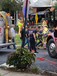 100 Portville Truck Motor Vehicle Crashes Into Nutley House Jaws Of Life Used To