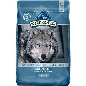 Blue Buffalo Wilderness Dog Food - Chicken, Dry, 24lb