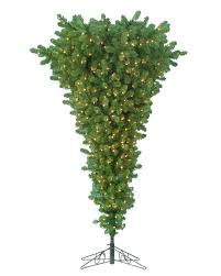PHOTO One Of The Pre Lit Upside Down Christmas Trees Sold At Home Depot