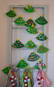 Gumdrop Christmas Tree Garland by Easy And Cute Diy Christmas Crafts For Kids To Make Hative