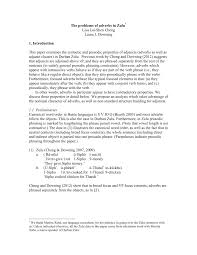 PDF) The Problems Of Adverbs In Zulu 28 Adverb Of Manner Worksheets Grammar Worksheets Gt Good Action Verbs Colonarsd7org Resumeletter Writing Verb For Rumes Pdf The Problems Of Adverbs In Zulu Chapter 8 Writing Basics What Makes A Good Stence 44 Adverbs To Powerup Your Resume Tips Semicolons And Conjunctive Lesson Practice Games Anglais 2 Rsum Hesso Studocu Kinds Discourse Clausal Syntax Old Middle