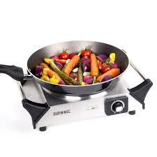 cuisiner avec l induction duronic hp1ss table de cuisson avec plaque en fonte d acier en inox