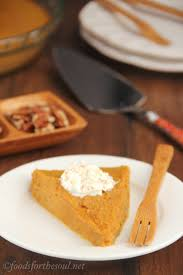 Pumpkin Pie Without Crust And Sugar by Crustless Pumpkin Pie Amy U0027s Healthy Baking