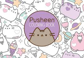 Download A Page From The New Pusheen Coloring Book
