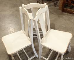 Chair Trio Painted and Distressed Petticoat Junktion