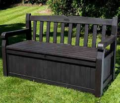 bench top diy outdoor storage benches the garden glove within plan