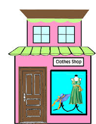 E Clothing Store Clipart 1