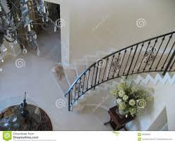 Spiral Staircase With Wrought Iron Banister. Stock Photo - Image ... Wrought Iron Stair Railings Interior Lomonacos Iron Concepts Wrought Porch Railing Ideas Popular Balcony Railings Modern Best 25 Railing Ideas On Pinterest Staircase Elegant Banisters 52 In Interior For House With Replace Banister Spindles Stair Rustic Doors Double Custom Door Demejico Fencing Residential Stainless Steel Cable In Baltimore Md Urbana Def What Is A On Staircase Rod Rod Porcelain Tile Google Search Home Incredible Handrail Design 1000 Images About