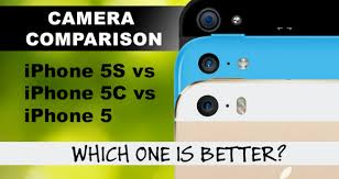 iPhone 5S Camera vs iPhone 5C and iPhone 5 – Lens Sensor and