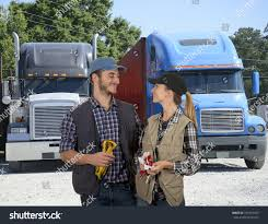 Happy Truck Drivers Looking Each Other Stock Photo (Royalty Free ... Hc Truck Drivers Tippers Driver Jobs Australia 14 Steps To Be Better If Everyone Followed These Tips For Females Looking Become Roadmaster Portrait Of Forklift Truck Driver Looking At Camera Stacking Boxes Ups Kentucky On Twitter Join Our Feeder Team Become A Leading Professional Cover Letter Examples Rources Atri Discusses Its Top Research Porities For 2018 At Camera Stock Photos Senior Through The Window Photo Opinion Piece Own The Open Road Trucking Owndrivers