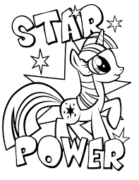 Coloring Pages Mlp Free My Little Pony