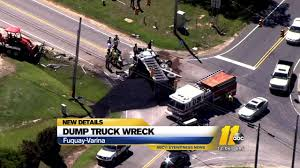 Dump Truck Driver Charged After Wreck Near Fuquay-Varina | Abc11.com