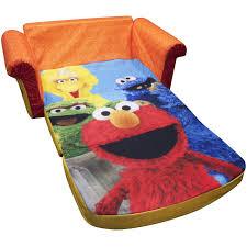 Walmart Elmo Adventure Potty Chair by Marshmallow 2 In 1 Flip Open Sofa Sesame Street U0027s Elmo Walmart Com