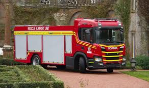 100 New Fire Trucks Humberside Fire Service Gets New Scania Pseries Trucks Commercial
