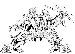 Bulkhead Transformer Coloring Page Free Printable Pages Bumblebee Online