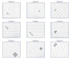 tile installation pattern ideas
