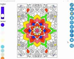 Coloring Book For Adults Zen Windows 10 App