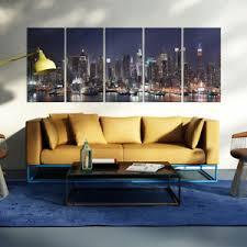 details zu vlies leinwand bild new york skyline wandbilder wohnzimmer kunstdruck 10farb