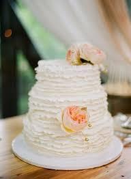 Rustic Wedding Cake Ruffled Photo By Hunterphotographic