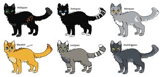 warrior cat names warrior cat adopts 2 apprentice s closed by evertooth on deviantart