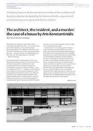 pdf the architect the resident and a murder the of