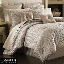 J Queen Celeste Curtains by Astoria Scroll Comforter Bedding By J Queen New York