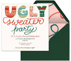 How To Host An Ugly Sweater Party