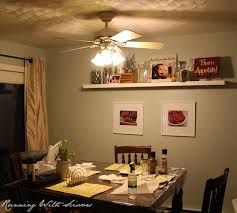 Our Dining Room Had A Ceiling Fan As The Main Light Source Weve Never Used And It Just Seemed Weird Above Eating Space
