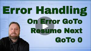 Excel VBA (Macro) On Error GoTo, On Error Resume Next, And GoTo 0 - Code  Included Vbscript On Error Resume Next Not Working  Daily Writing Tips Freelance Course Stop On Error Resume Next Vbscript Best Sample Pertaing To C Tratamiento De Errores Minado Soy Vbs Beefopijburgnl Homework Helpjust For Kits Healthynj Information Healthy Ghostwriters In Hip Hop A Descriptive Essay Thatsim Programming Ms Excel Visual Basic Vba Pdf Urgent Essay Com Closeup Prime Service To Order Research Example