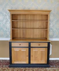 Large Solid Vermont Maple Open Top Country Kitchen Dining Room Hutch Cabinet