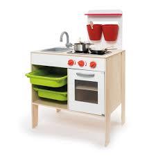 cuisine enfant 3 ans grande cuisinière en bois avec accessoires imagibul création oxybul
