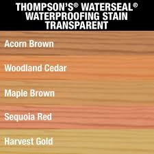 Acorn Corner Mop Sink by Thompson U0027s Waterseal 1 Gal Transparent Acorn Brown Waterproofing