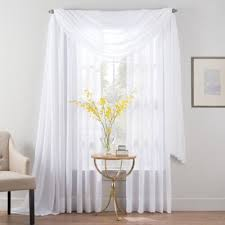 Bed Bath And Beyond Curtains And Drapes by Smart Sheer Insulated Linen Voile Sheer Window Treatments