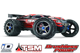 100 Revo Rc Truck 560864 Traxxas 110 E Electric Brushless 4WD RC W