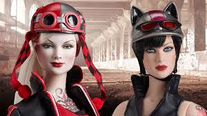 Harley Quinn And Catwoman Become Biker Barbies With Tonners Gotham