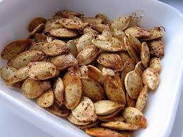 cuisiner citrouille graines de citrouille au paprika fumé geneviève o gleman dt p