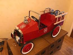 Vintage Ride On Fire Engine Classic Toy Metal Pedal Car | In ... Goki Vintage Fire Engine Ride On Pedal Truck Rrp 224 In Classic Metal Car Toy By Great Gizmos Sale Old Vintage 1955 Original Murray Jet Flow Fire Dept Truck Pedal Car Restoration C N Reproductions Inc Not Just For Kids Cars Could Fetch Thousands At Barrett Model T 1914 Firetruck Icm 24004 A Late 20th Century Buddy L Childs Hook And Ladder No9 Collectors Weekly Instep Red Walmartcom Stuff Buffyscarscom Page 2